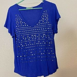 Unity World Wear Sz P L Blue With Bling Around VNe